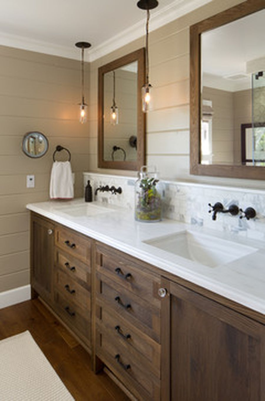 Rustic farmhouse style bathroom design ideas 27 - Hoommy.com on Rustic Farmhouse Bathroom  id=54712