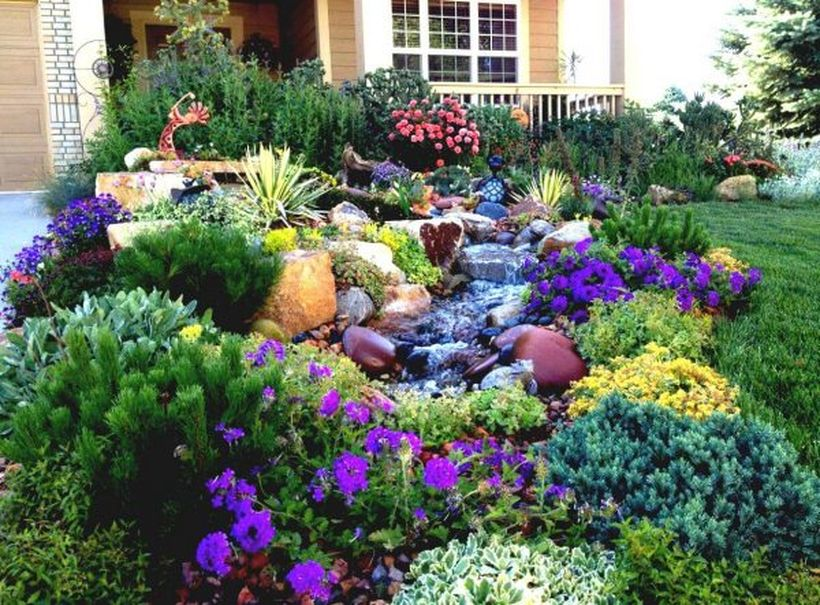 Texas Style Front Yard Landscaping Ideas 19 - Hoommy.com