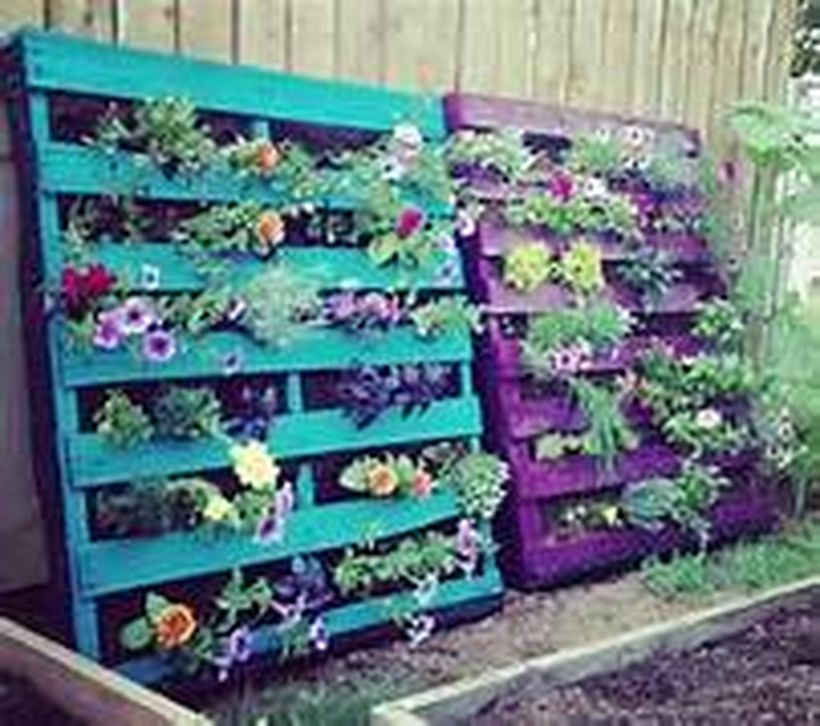 Beautiful Vertical Garden Ideas: Simple DIY Vertical Garden Ideas 2