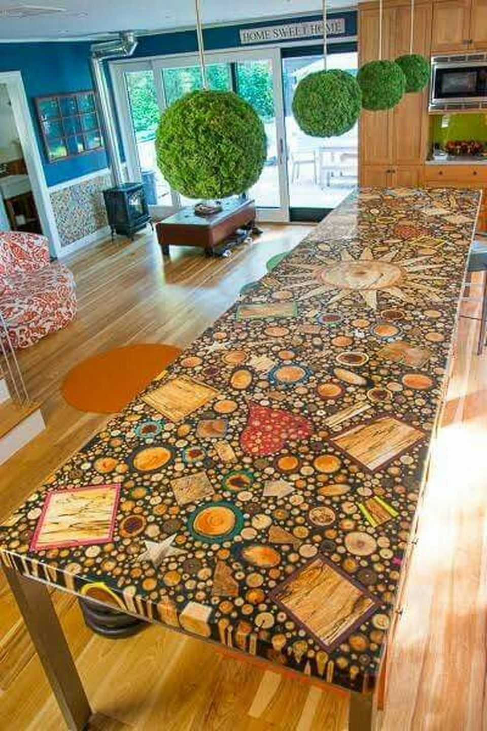 Awesome Resin Wood Table Project 25 Hoommy Com