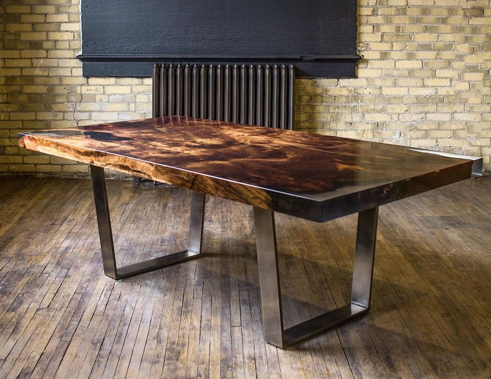 Awesome Resin Wood Table Project 26 Hoommy Com