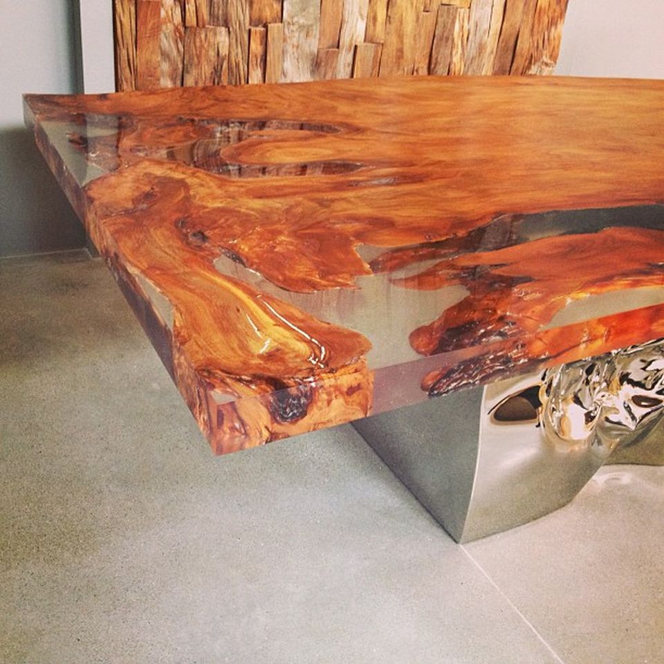 Project Gallery Wood Mode 1: Awesome Resin Wood Table Project 37