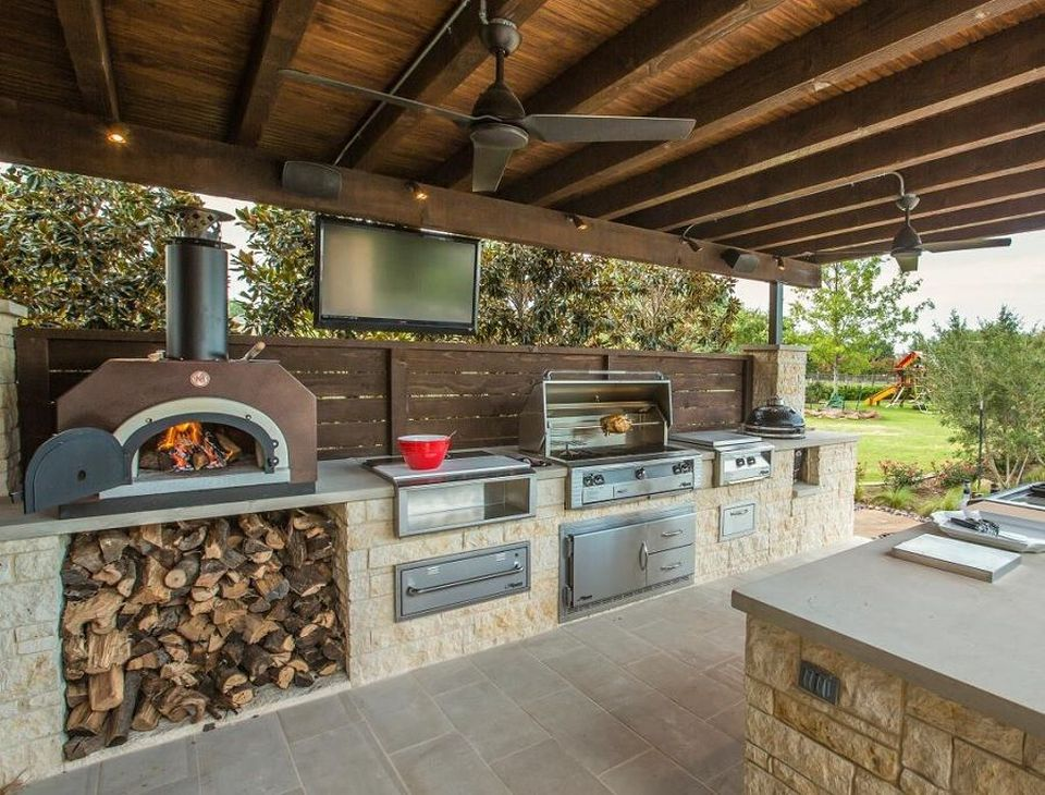 Awesome Yard and Outdoor Kitchen Design Ideas 10 - Hoommy.com