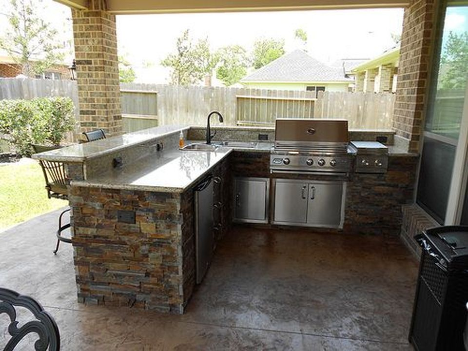 Awesome Yard and Outdoor Kitchen Design Ideas 20 - Hoommy.com