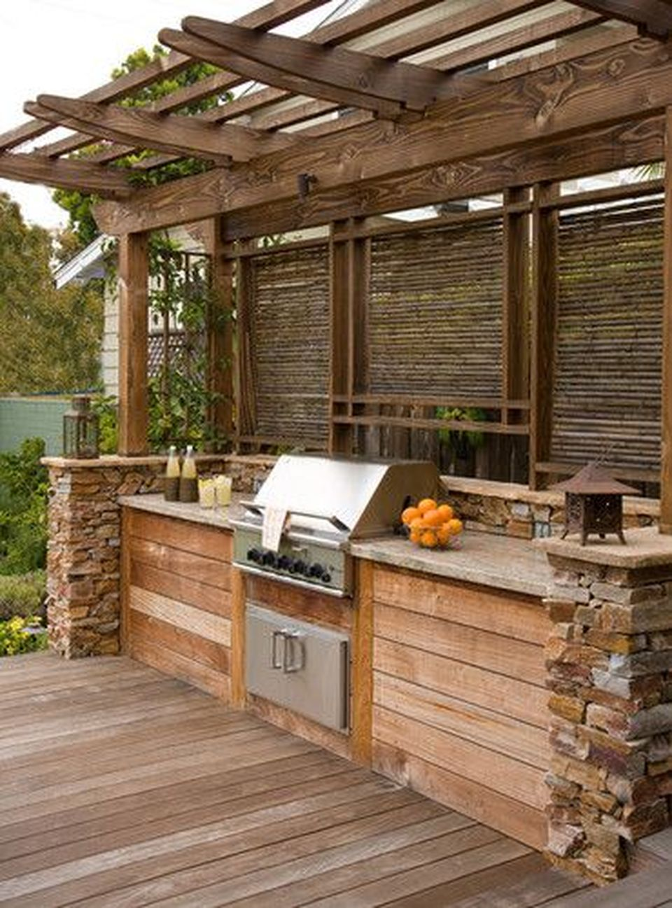 Awesome Yard and Outdoor Kitchen Design Ideas 24 - Hoommy.com