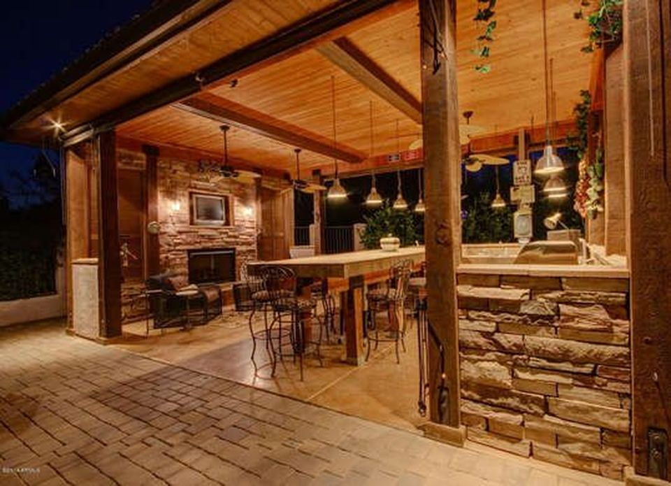 outdoor kitchens ideas pictures