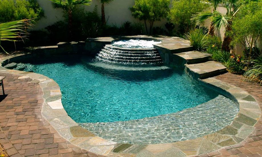 Awesome small pool design for home backyard 22 for Pool 22 design