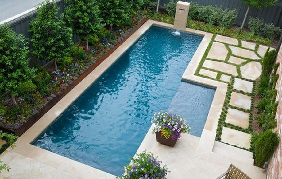 Awesome Small Pool Design for Home Backyard 48 - Hoommy.com