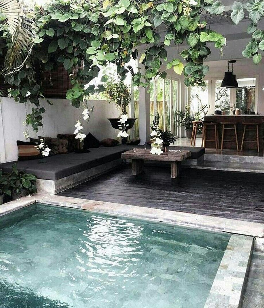 Awesome Backyards With Pools: Awesome Small Pool Design For Home Backyard 64