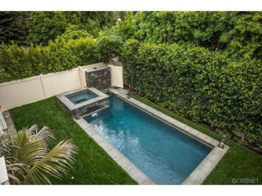Awesome Small Pool Design for Home Backyard 8 - Hoommy.com