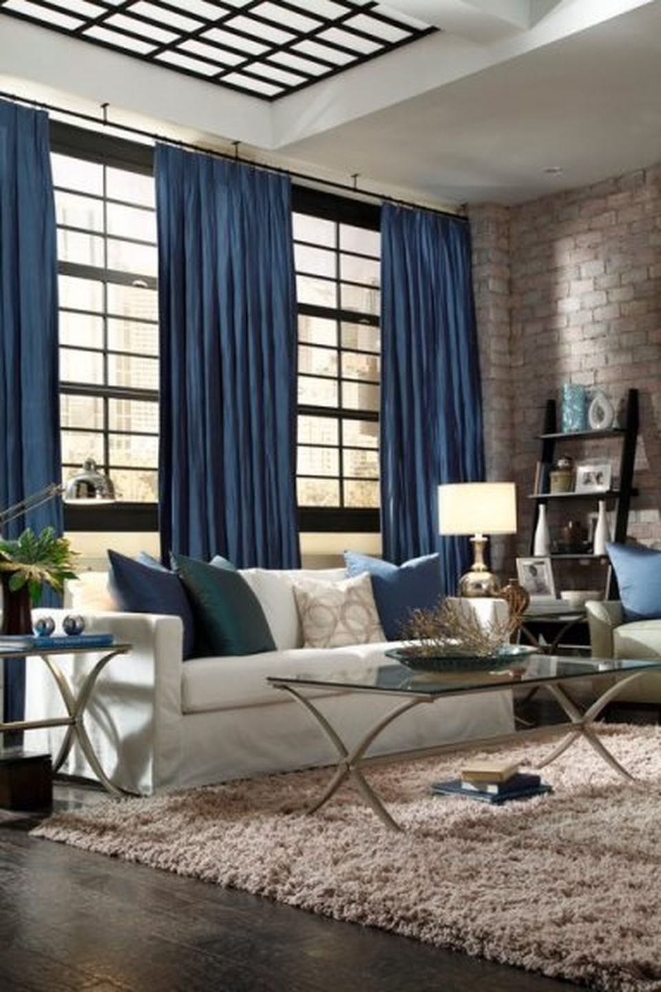 Awesome Tall Curtains Ideas for Living Room 17 - Hoommy.com on Living Room Drapes Ideas  id=77560