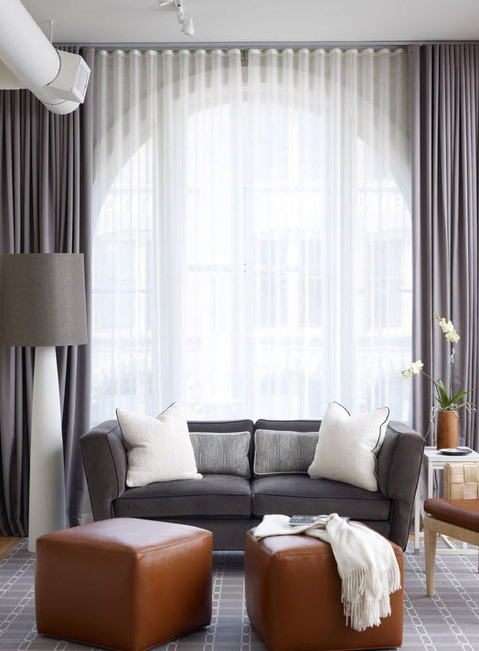 Awesome Tall Curtains Ideas for Living Room 39 - Hoommy.com on Living Room Drapes Ideas  id=81793