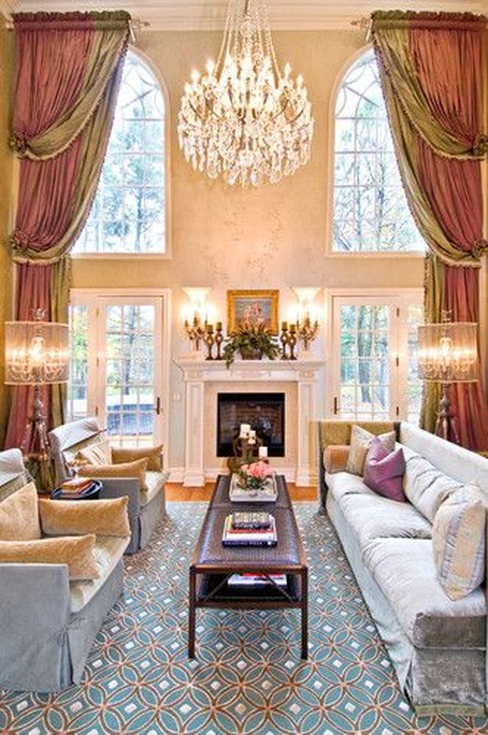 Awesome Tall Curtains Ideas for Living Room 7 - Hoommy.com on Living Room Curtains Ideas  id=71033