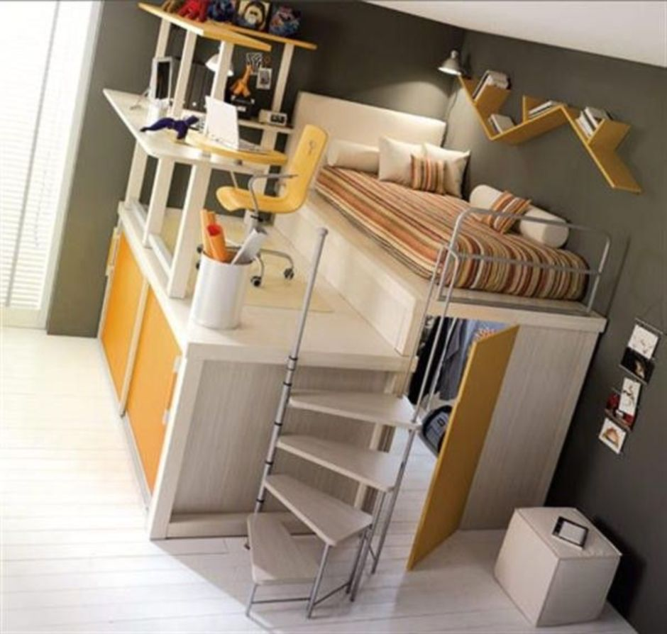 Awesome Beds: Awesome Cool Loft Bed Design Ideas And Inspirations 70