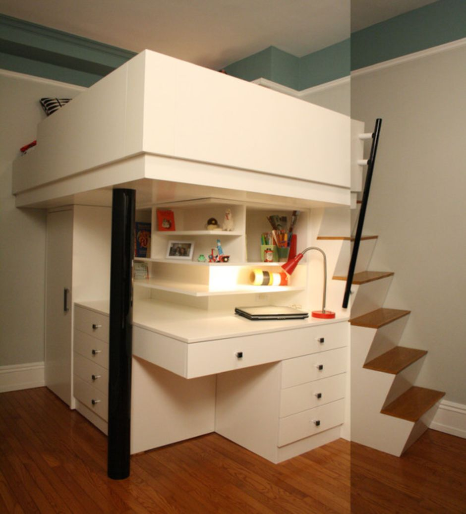 Awesome Beds: Awesome Cool Loft Bed Design Ideas And Inspirations 91