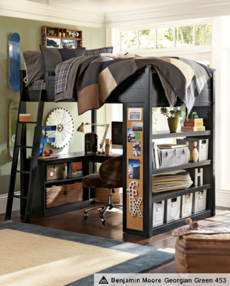 70 Awesomely Clever Ideas For Outdoor Kitchen Designs: Awesome Cool Loft Bed Design Ideas And Inspirations 94