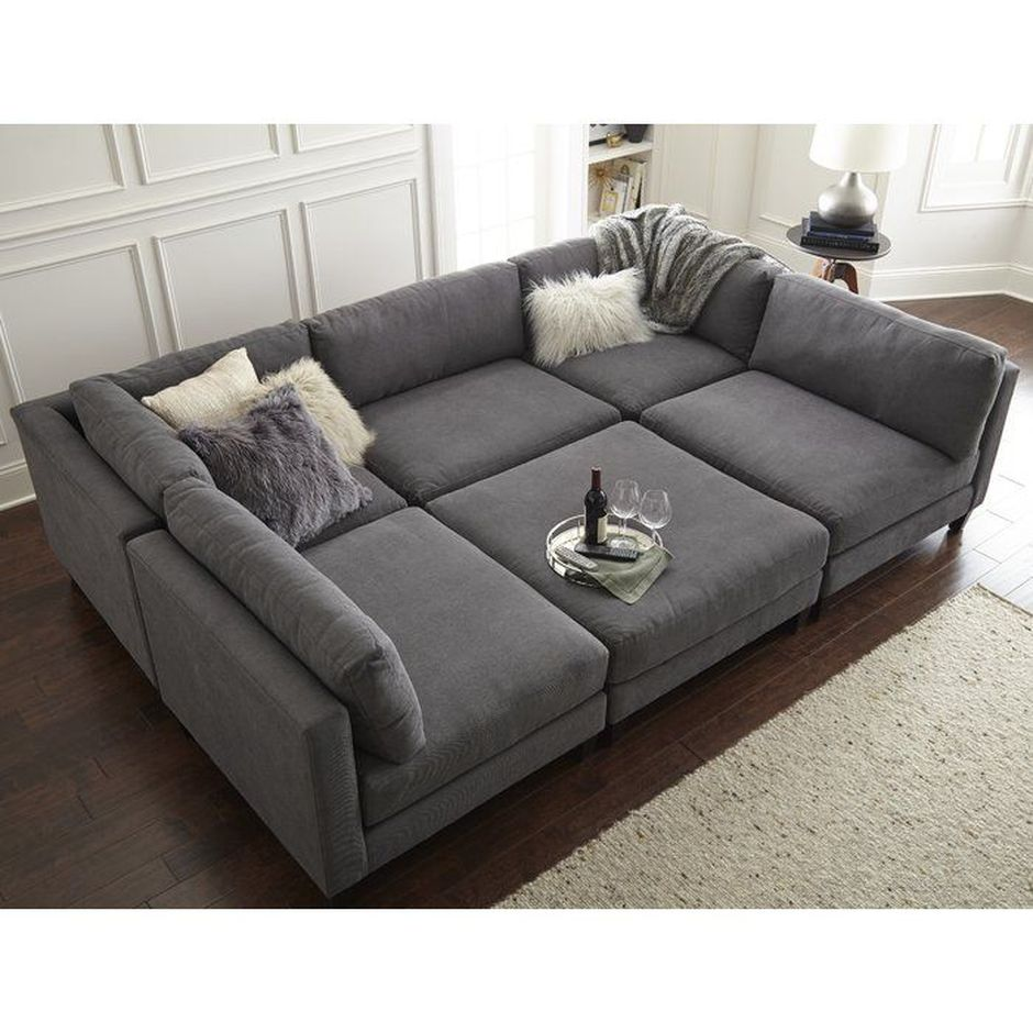 Cool Design For A Living Room: Cool Modular And Convertible Sofa Design For Small Living