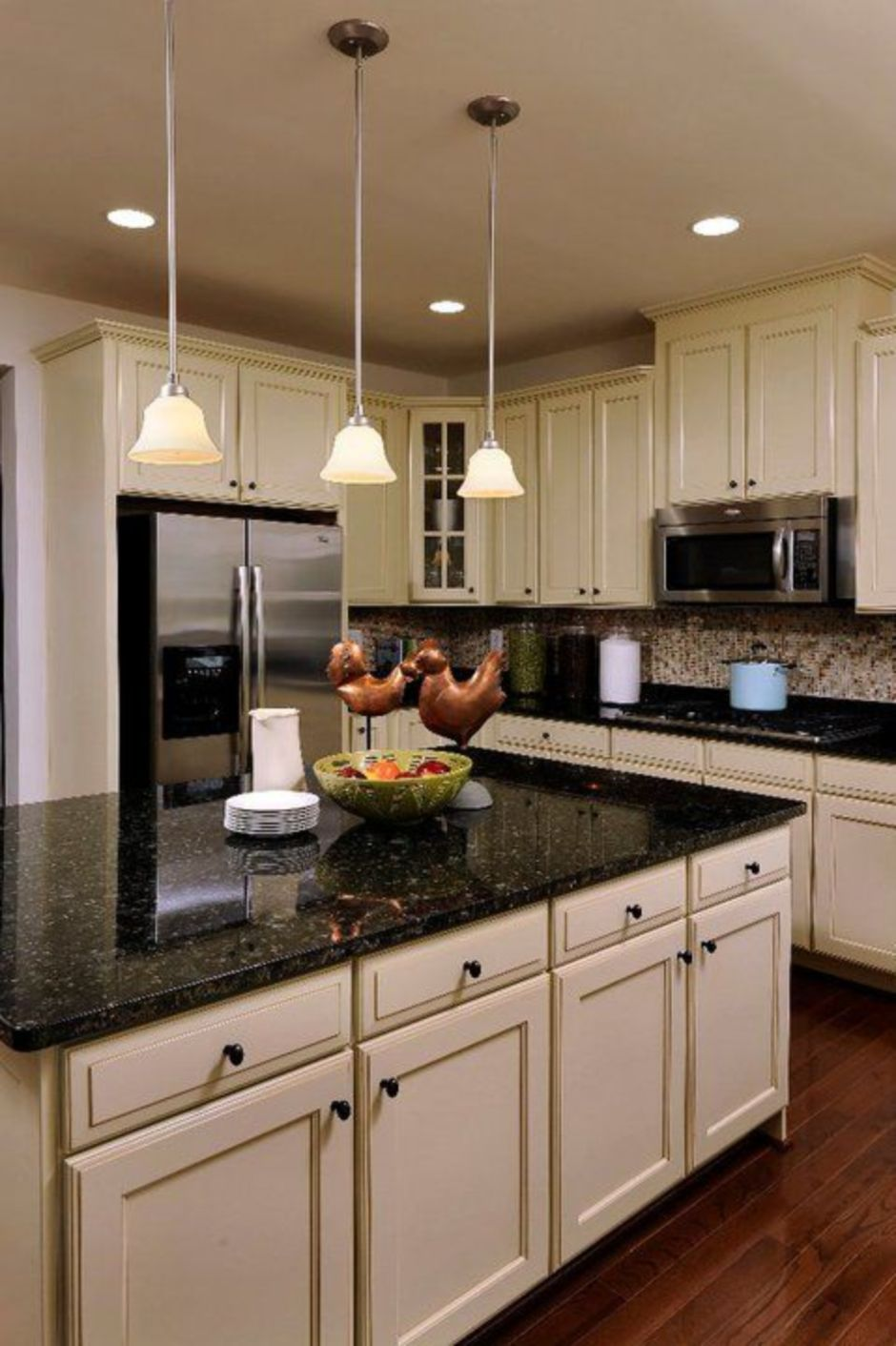 elegant kitchen light cabinets with dark countertops 56 2135