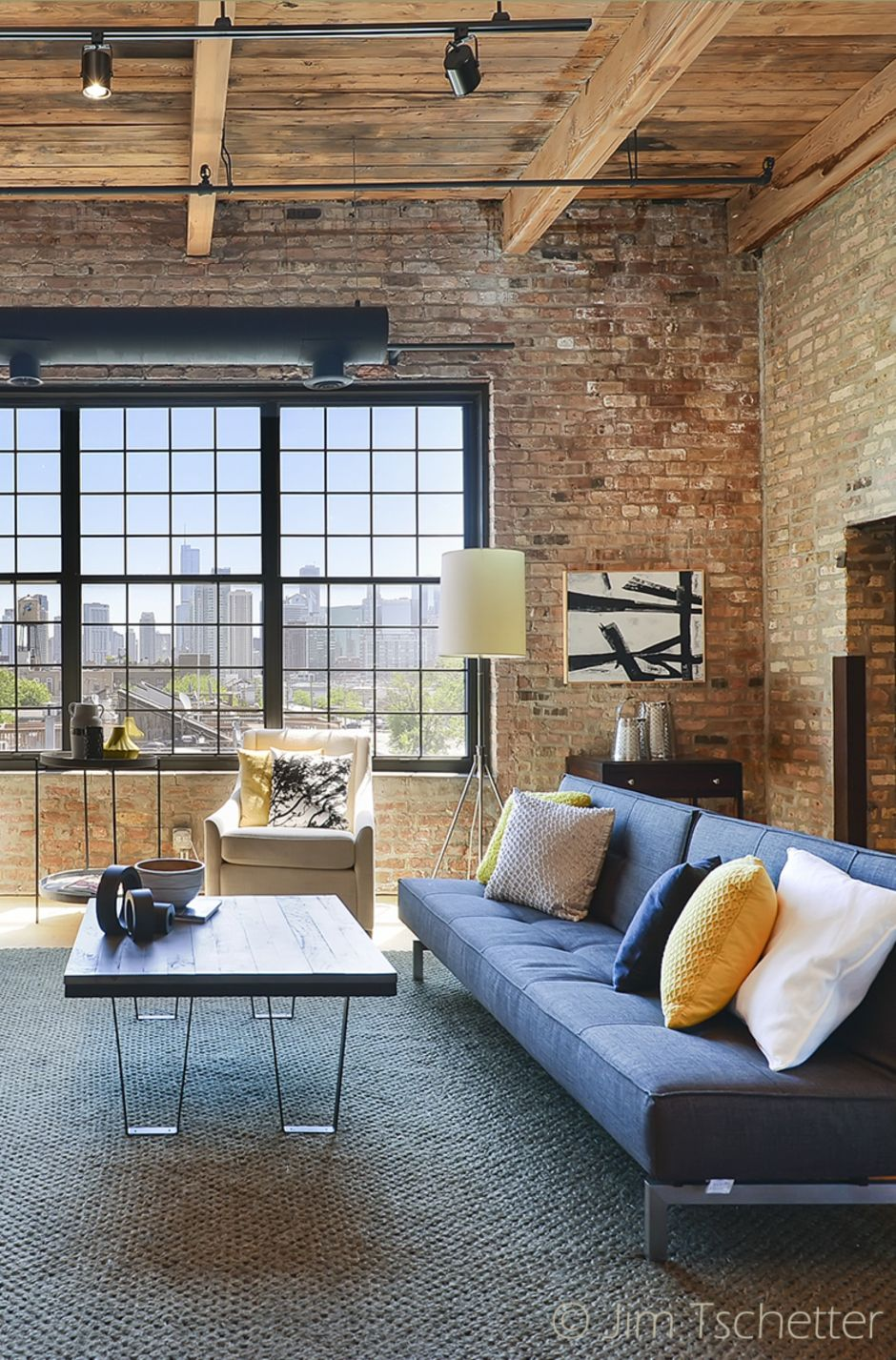 fascinating outdoor living room design | Fascinating Exposed Brick Wall for Living Room 31 - Hoommy.com