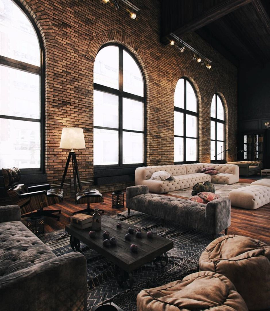 Fascinating Exposed Brick Wall for Living Room 37 - Hoommy.com