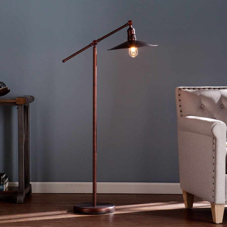 Fascinating Industrial Floor Lamp For Home Decorations 37