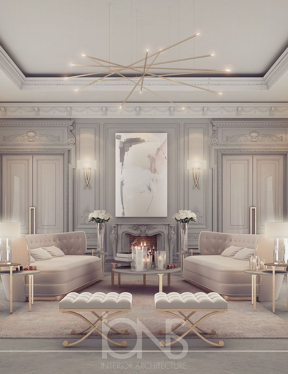 Exotic Living Room Ideas: 50 Magnificent Luxury Living Room Designs 33