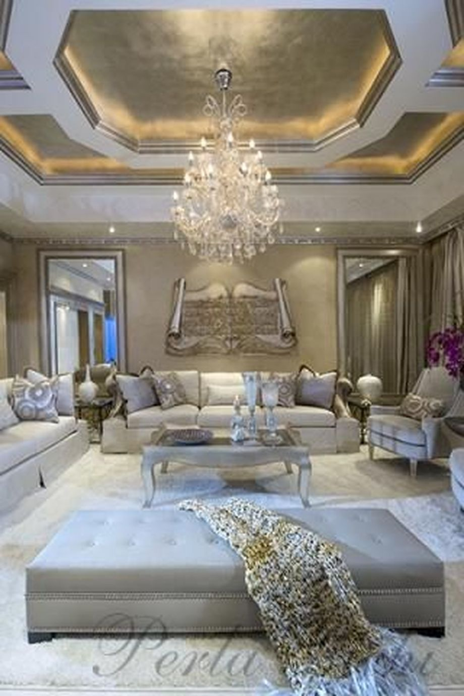Luxury Living Room: 50 Magnificent Luxury Living Room Designs 47