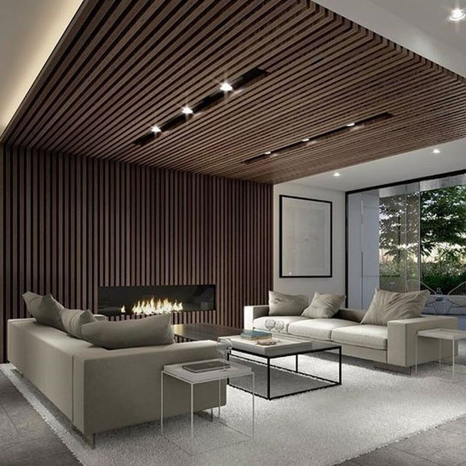 Modern And Contemporary Ceiling Design For Home Interior 80