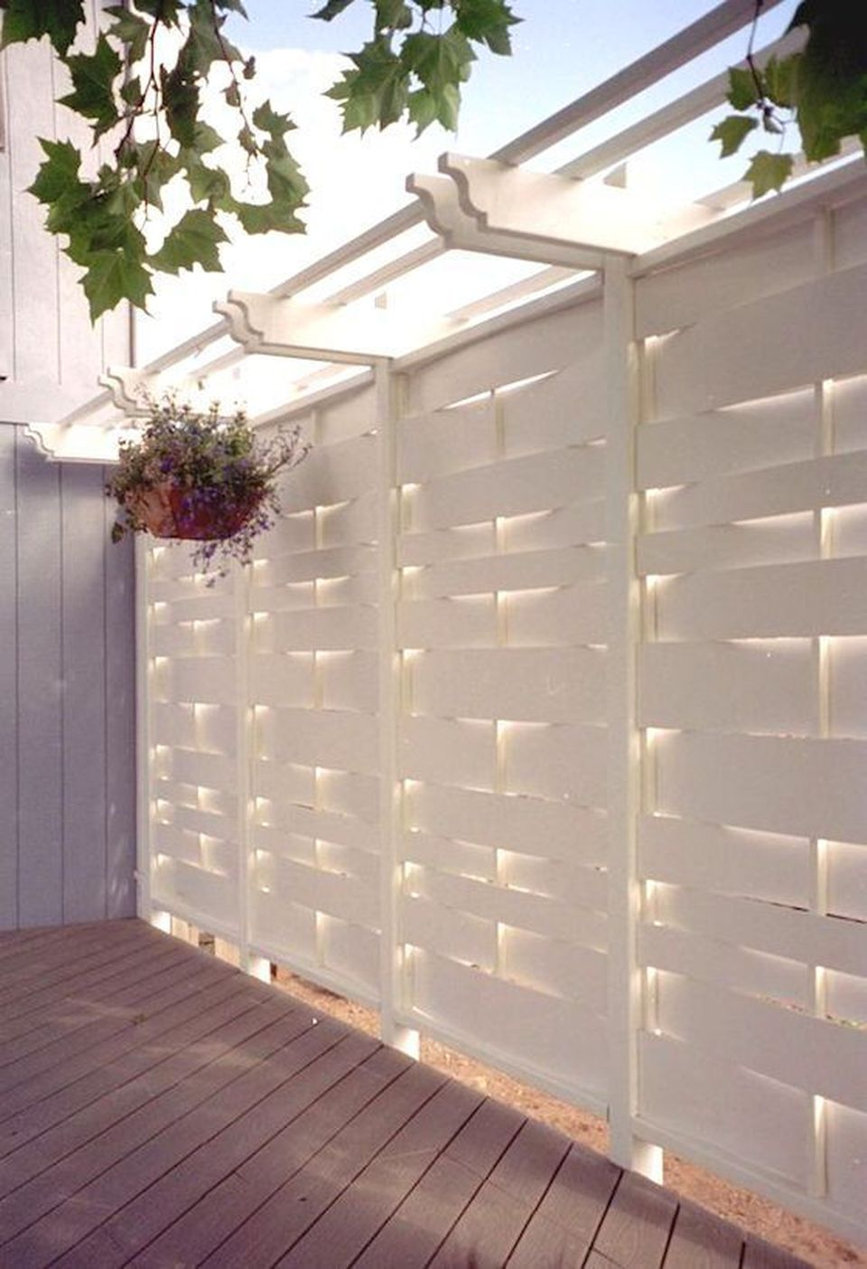 Cool Privacy Fence Wooden Design for Backyard 73 - Hoommy.com