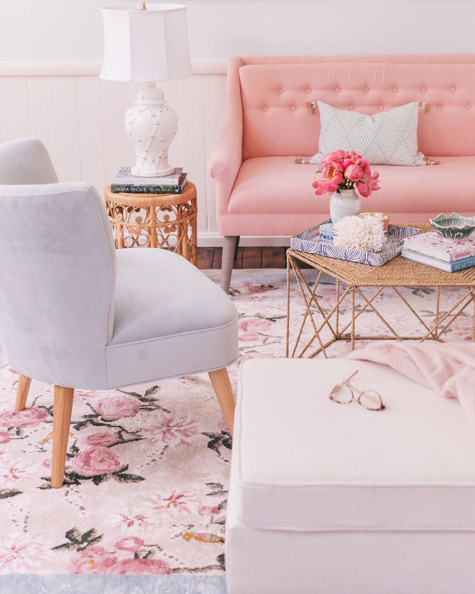 Cozy and Colorful Pastel Living Room Interior Style 26 ...
