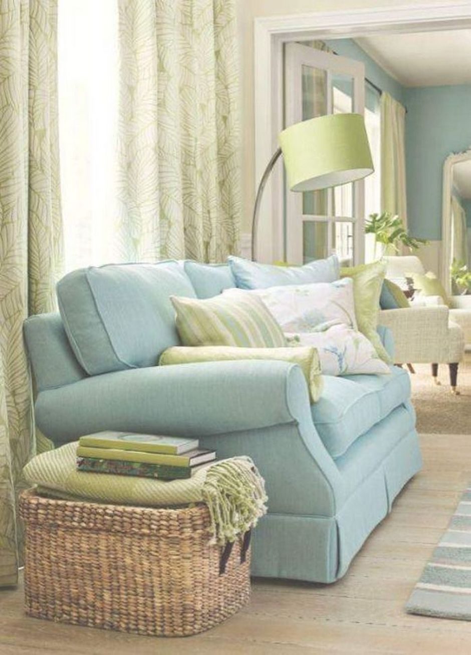 Cozy and Colorful Pastel Living Room Interior Style 29 ...