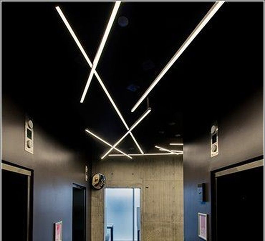 Led Lights Design: Modern Contemporary Led Strip Ceiling Light Design 25