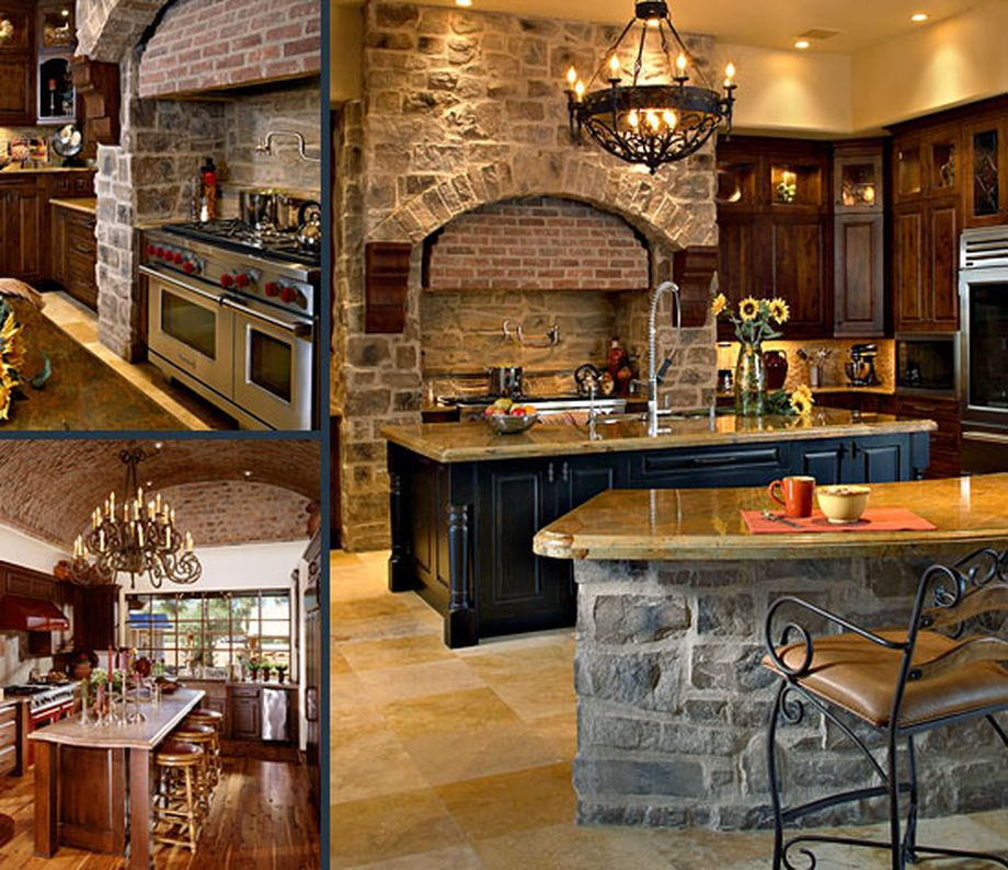 Tuscan Style Backyard Ideas: Rustic Italian Tuscan Style For Interior Decorations 11
