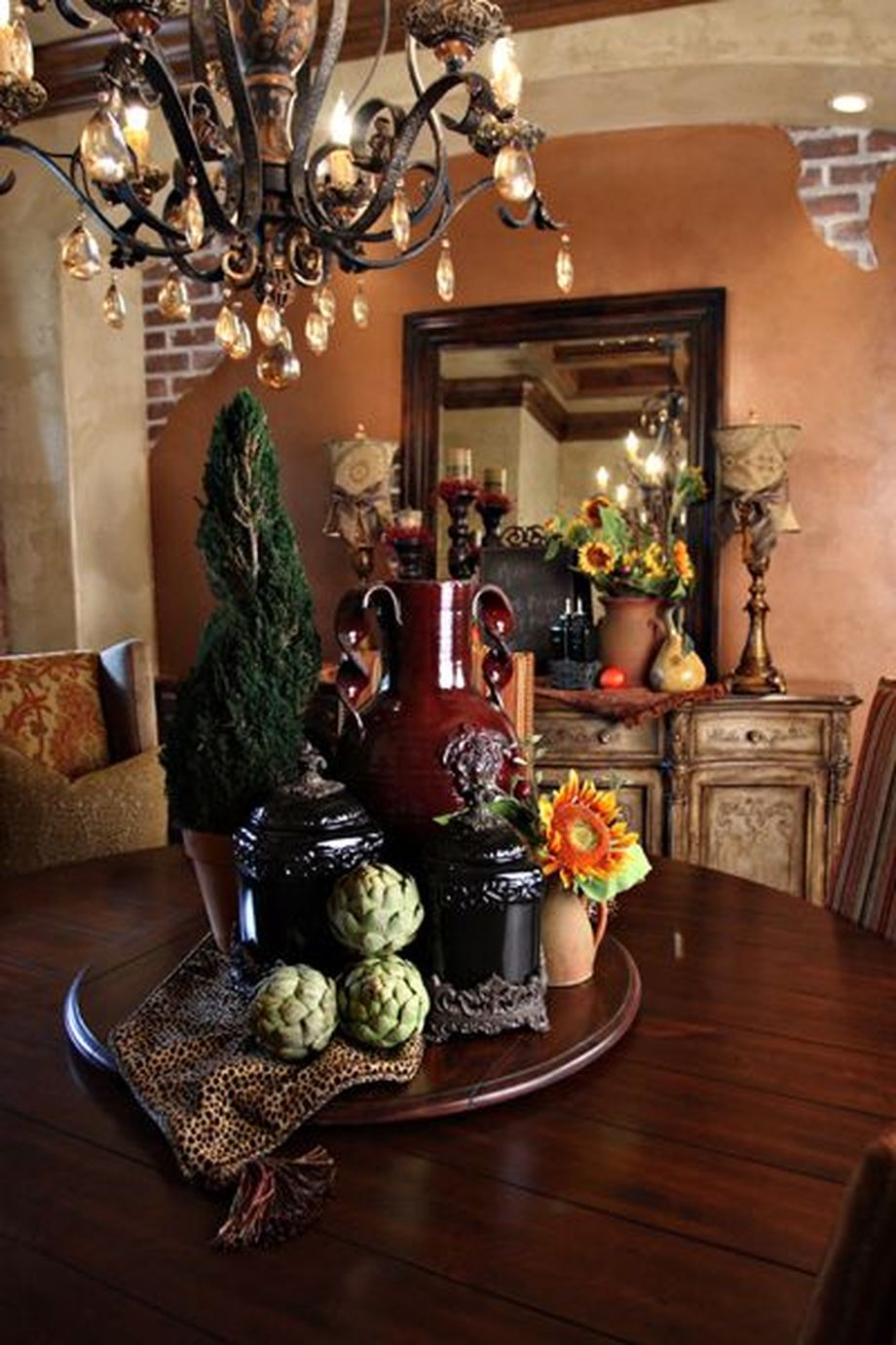 Rustic Italian Tuscan Style For Interior Decorations 29