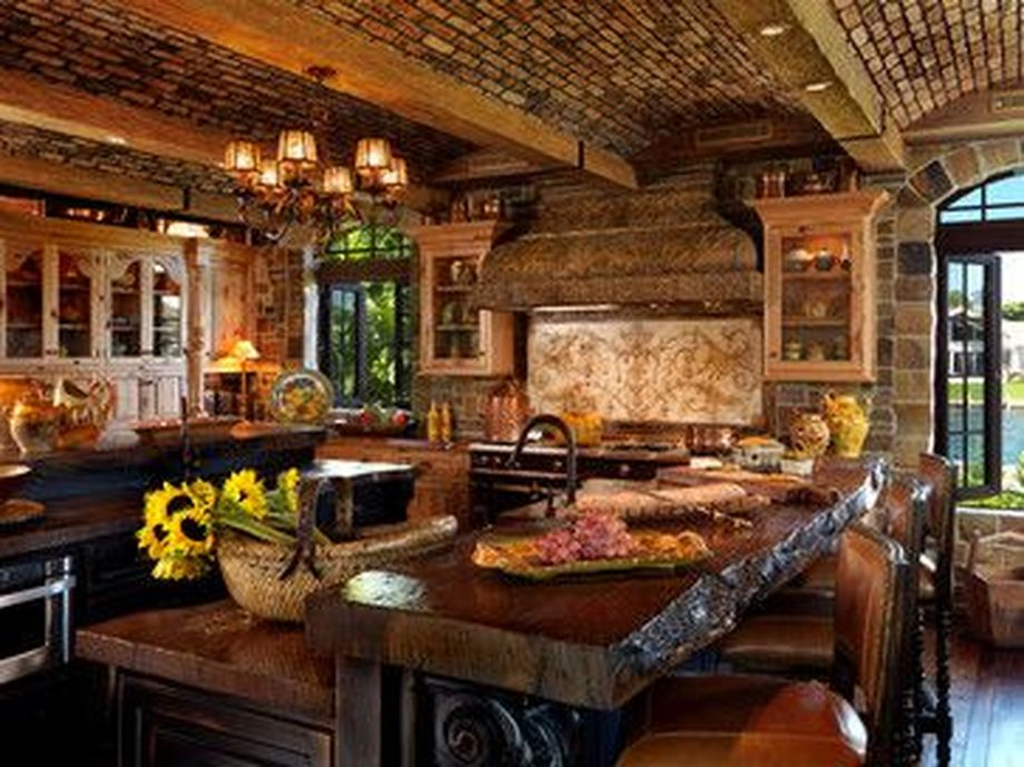 Rustic Italian Tuscan Style for Interior Decorations 48 ...