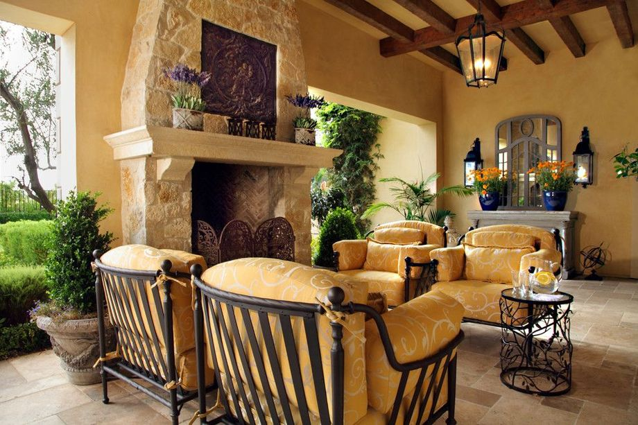Rustic Italian Tuscan Style for Interior Decorations 55 ...