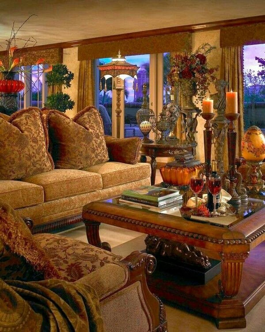 Italian Living Room Design: Rustic Italian Tuscan Style For Interior Decorations 58